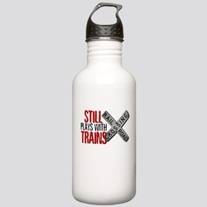 Still Plays With Trains Stainless Water Bottle 1.0