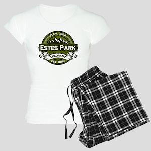 Estes Park Olive Women's Light Pajamas