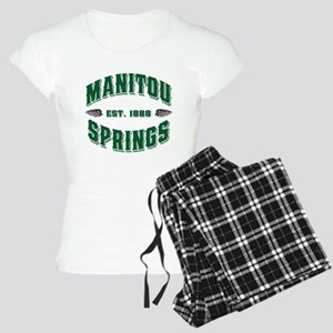 Manitou Springs Old Style Gre Women's Light Pajama