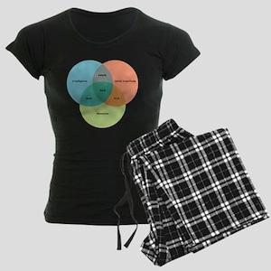 The Nerd Paradigm Women's Dark Pajamas