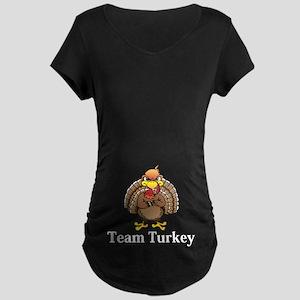 Team Turkey Logo 13 Maternity Dark T-Shirt Design