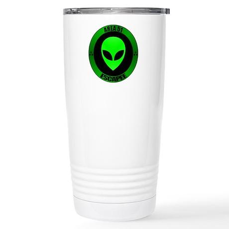 GA Area 51 Escapee Stainless Steel Travel Mug