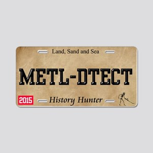 metal detecting License Plate