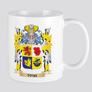 Tosh Family Crest - Coat of Arms Mugs