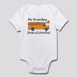 Grandpa Drives a Bus - Infant Creeper
