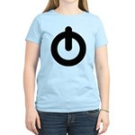 Power Button Women's Light T-Shirt