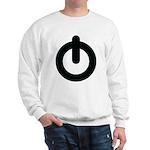 Power Button Sweatshirt