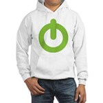 Power Button Hooded Sweatshirt