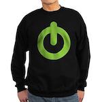 Power Button Sweatshirt (dark)