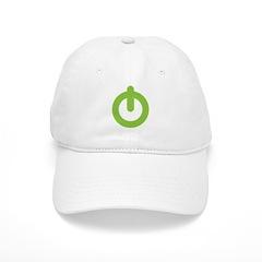Power Button Baseball Cap
