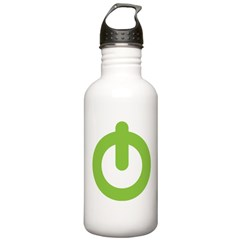 Power Button Water Bottle
