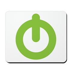 Power Button Mousepad