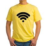 Wifi Yellow T-Shirt