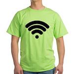 Wifi Green T-Shirt