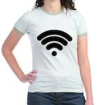 Wifi Jr. Ringer T-Shirt