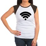 Wifi Women's Cap Sleeve T-Shirt