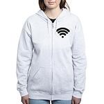 Wifi Women's Zip Hoodie