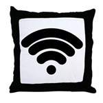 Wifi Throw Pillow