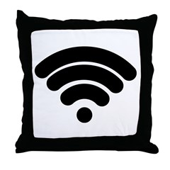 Wifi Throw Pillow