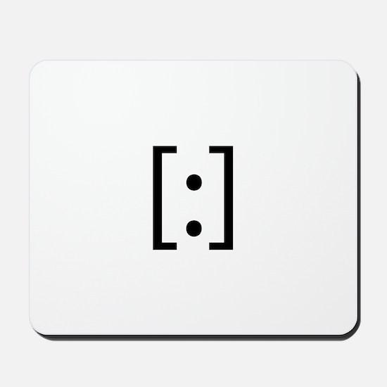 Robot Smilie Mousepad