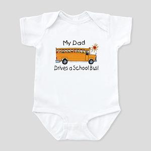 Dad Drives a Bus - Infant Creeper