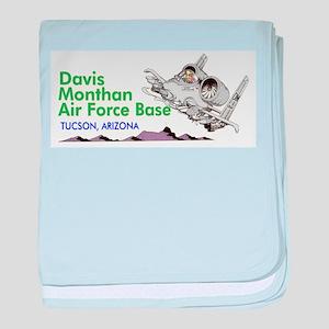 A-10 DMAFB baby blanket