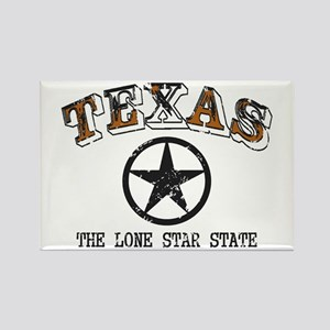 Lone Star State Rectangle Magnet