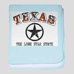 Lone Star State baby blanket