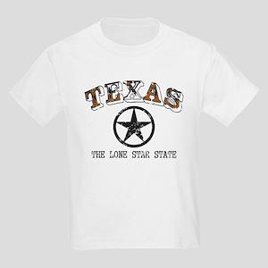 Lone Star State Kids Light T-Shirt