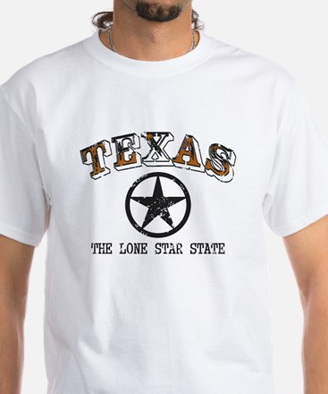Lone Star State White T-Shirt