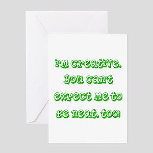 I'm Creative! Greeting Card