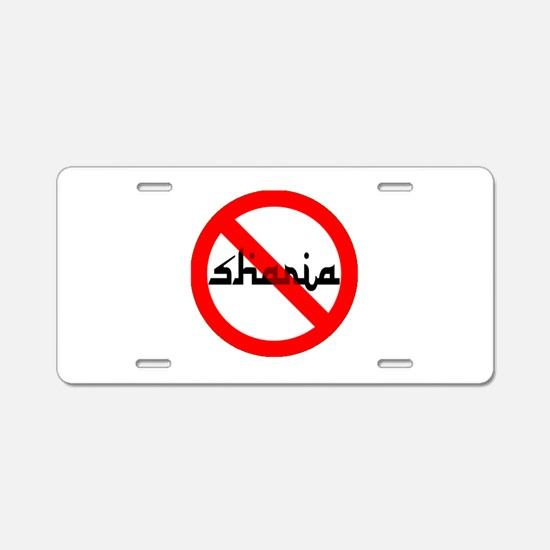 OPPOSE THIS Aluminum License Plate