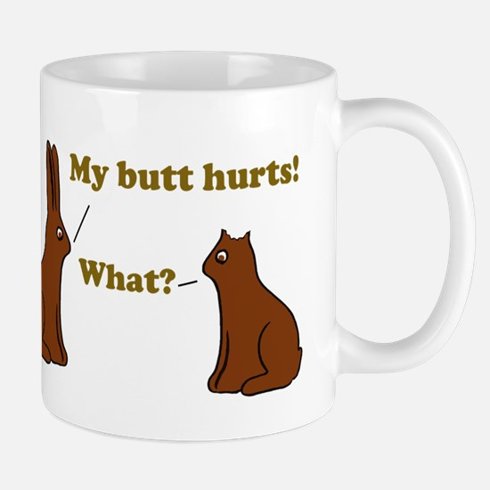 Chocolate Bunnies My Butt Hur Mug