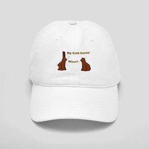 Chocolate Bunnies My Butt Hur Cap