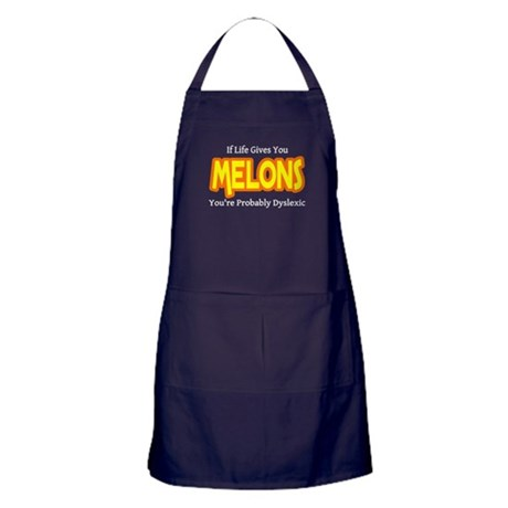 If Life Gives You Melons You Apron (dark)