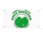 Hike Seekers Green Logo Banner