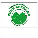 Hike Seekers Green Logo Yard Sign