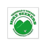 Hike Seekers Green Logo Sticker