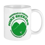 Hike Seekers Green Logo Mugs