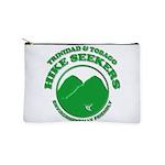 Hike Seekers Green Logo Makeup Bag