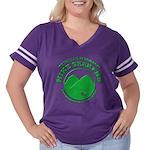 Hike Seekers Green Logo Women's Plus Size Football