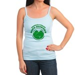 Hike Seekers Green Logo Tank Top