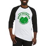 Hike Seekers Green Logo Baseball Jersey