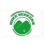 Hike Seekers White Logo Postcards (Package of 8)