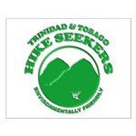 Hike Seekers White Logo Small Poster