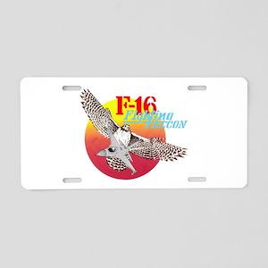F-16 (FALCON) Aluminum License Plate