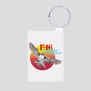 F-16 (FALCON) Aluminum Photo Keychain