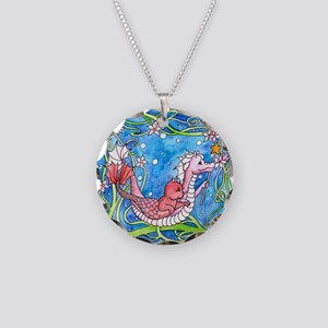 Sea Dragon's Quest Necklace Circle Charm