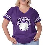Hike Seekers White Logo Women's Plus Size Football