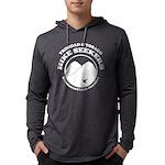 Hike Seekers White Logo Long Sleeve T-Shirt
